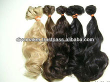Natural Wave Brazilian 100% Virgin Remy Human Weft Hair