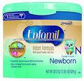Enfamil premium fórmula recién nacido en polvo bañera- 22.2 oz.( 4 pack)