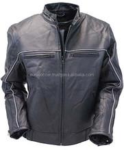 ce moto armatura di protezione biker qualità premium giacca in crosta di cuoio