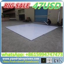 hot selling white and black wood dance floor for wedding, portable dance floor wood,best price wood finish floor tiles