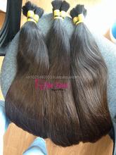 NATURAL COLOR BROWN virgin hair Vietnam hair 100% human hair all lengths 6- 34 inches