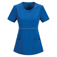 Tops fashion design hospital uniforms for nurse scrubs