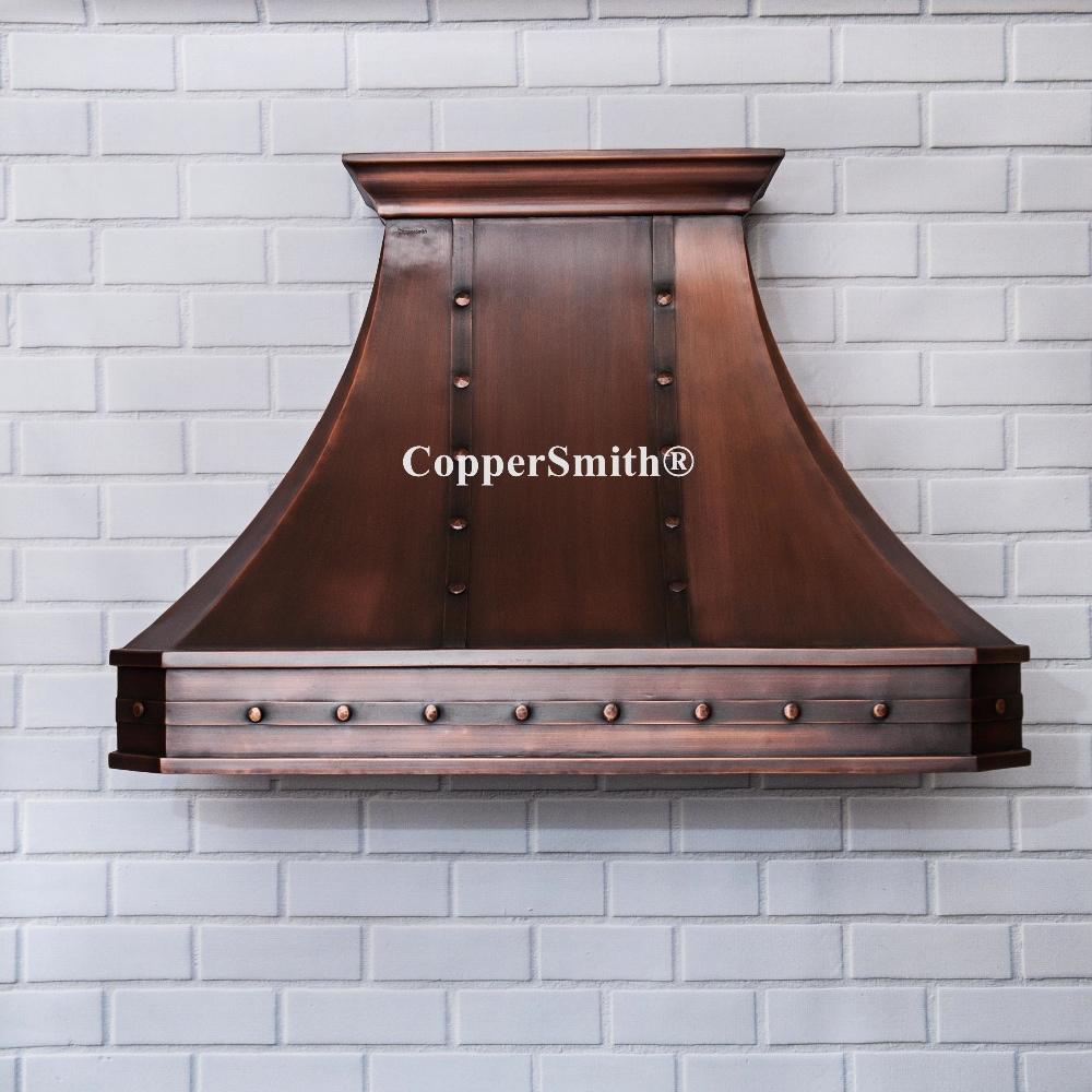 Copper Range Hoods ~ Coppersmith classic copper range hood buy