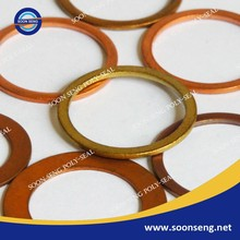 Flat Copper Sealing Washer, Copper Ring Washer, Copper Flat Gasket