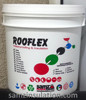 Rooflex high quility white acrylic based water proofing and thermal heat insulation coating for Roof (concrete & metal) & wall