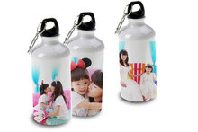 500ml and 600ml promotional personalized Aluminum sublimation sports water bottle