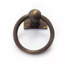 """Latón anillo tirones - pequeño rectángulo placa posterior 1 """""""