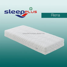 ORTHOPEDIC HR FOAM MATTRESS HIGH DENSITY FIRM COVERED WITH KNITTED FABRIC ZIP COVER