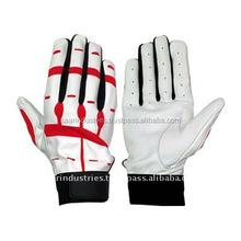 Soft Leather Baseball Batting Gloves