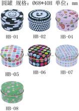 high quaulity tinplate round box(tall), self-design printing, metal box,storage box, OEM