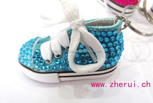 Bling shoe keyring phone accessories