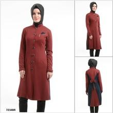 ALL190 2015 New Fashion Exclusive Hot Selling short Sleeve Turkish Tunic, hijab and Abaya