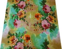 "Cotton Voile Fabric 42"" Wd Floral Print Quilting/Sew Apparel Drape FBC3633"