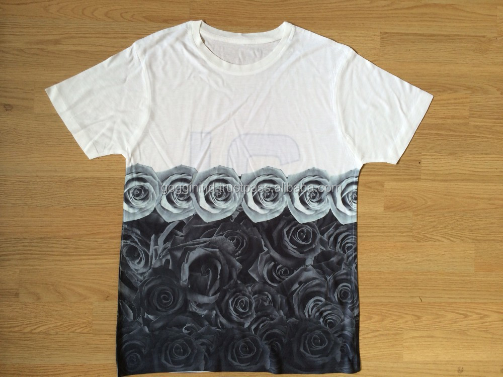 3d custom printing plain t shirt manufacturer buy full for Plain t shirts to print on
