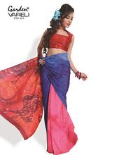 indian lace designer sari