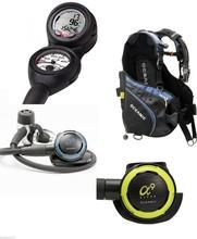 Oceanic Veo 2.0 Alpha 9 Sport Flex BCD Regulator Set Scuba Dive Package LG