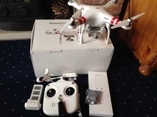 Buy 2 Get 1 Free DJI Phantom 2 Vision+ Quadcopter Flying Camera - BUNDLE - with Spare Lithium Battery, Professional Hard Case,