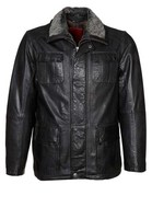 leather jacket good quality made in pakistan/ black leather jacket