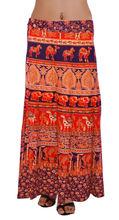 2014 de moda indio envuelva faldas largas para las mujeres