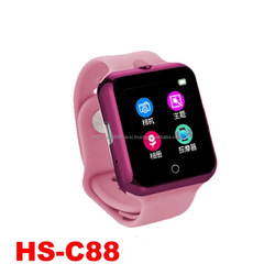 NEW HS-C88 heart rate monitor ultraviolet ray monitor smartwatch phone support SIM/TF card camera mp4 waterproof