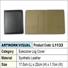 PU Leather Executive log cover / notebook cover