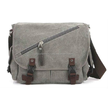 2015 new fashion canvas shoulder bag for man, canvas messenger bag for men,china canvas bags for men