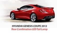 Hyndai Genesis Coupe 2012 Rear Combination LED Tail Lamp