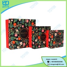 whole cover printing square decorative chocolate packing box