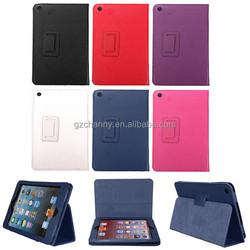 Luxury Leather Case Smart Cover for ipad mini Protective Rotating Folding Bag for Tablet Computer Flip Pouch