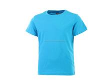 Custom men's round neck combed cotton tall t shirt, long t shirt