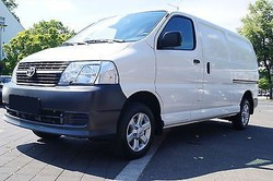 Used Toyota Hiace (long) Delivery Van - Left Hand Drive - Stock no: 12915