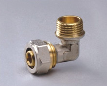 brass female equal Tee/pex pipe fittings for water supply system ZAT-KY1015