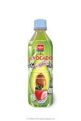 100% Pure Natural Strawberry Flavor Avocado Juice