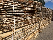 un- edged birch timber KD 8-10% AB grade