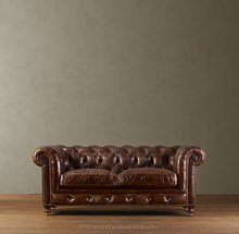 antique chesterfield leather sofa furniture, Arabian Leather sofa