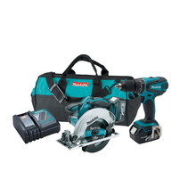 Discount Price & FREE Shipping For Makita XT250 LXT 18V Cordless Lithium-Ion 1/2 in. Hammer Drill and Circular Saw Kit