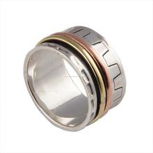 Anillo Spinner 925 joyería venta al por mayor anillo Spinner
