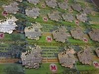 pesan pin lencana plakat name tag lencana pin logam kuningan