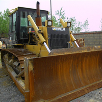 Japan cat D6G for sale , used cheap caterpillar D6 dozer in China, Japan original crawler dozers