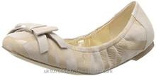Rockport Women's Daya Print Ballet Flat Pumps Girls Leather shoes