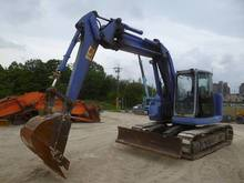 USED KOMATSU CRAWLER EXCAVATOR PC128UU-2 FROM JAPAN