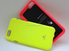 Mercury Fluorescent Jelly tpu soft phone case (Lime)