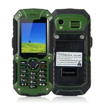 Freelander Mobile Phone - Interphone, Dual SIM, Waterproof, Dustproof, Shockproof, Camera - Green