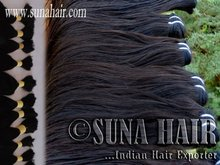 Indigo - Ocean weave weft Natural hot sale cheap density human hair for 2012 new top quality sexy popular indian loose bulk hair