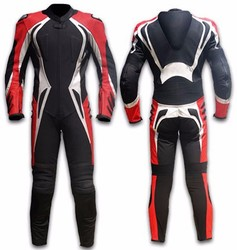 moter bike lather suit