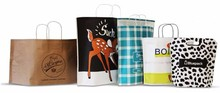 CUSTOM bag - innovative eco paper carrier bag