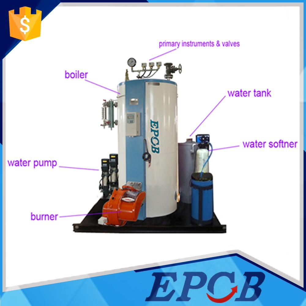 A Grade Manufacture Vertical Gas Or Oil Steam Boiler/hot Water ...