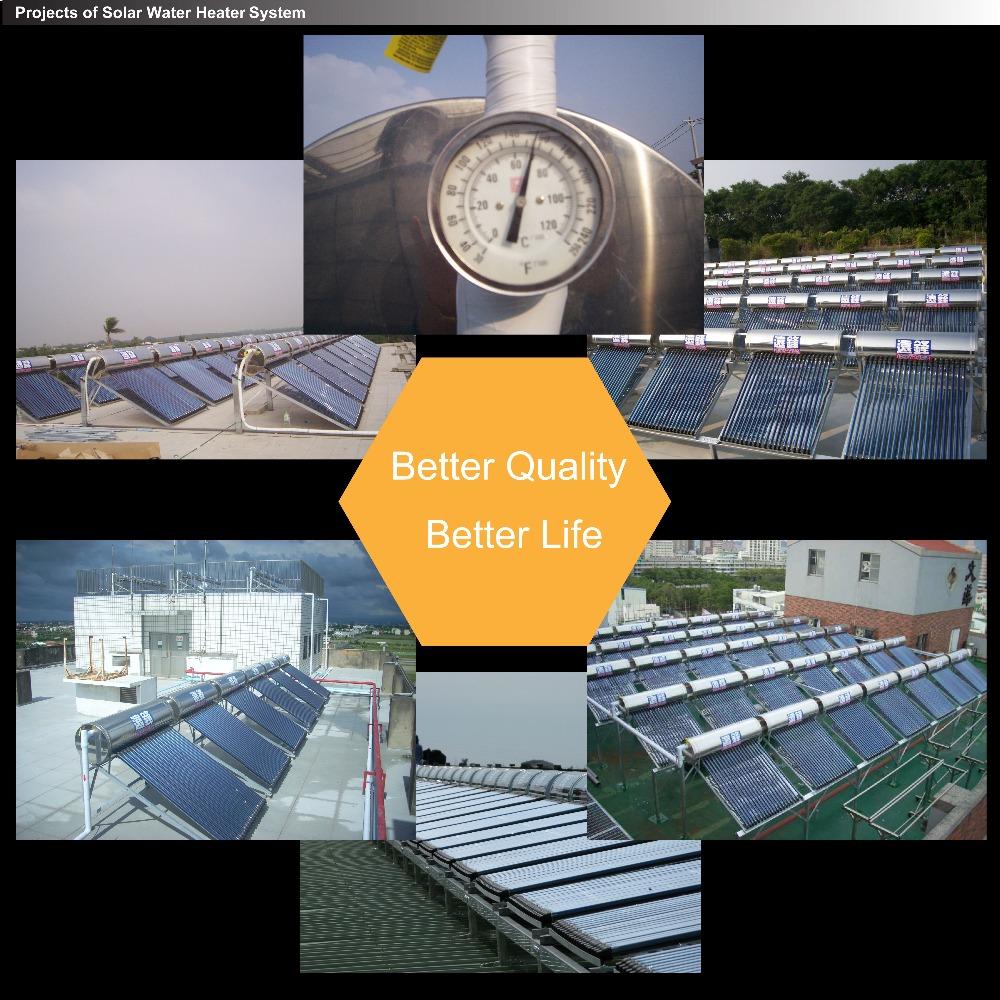 Vendita calda split balcone pressurizzato collettore solare a schermo piatto collettore solare for Riscaldatore di acqua calda del cpvc