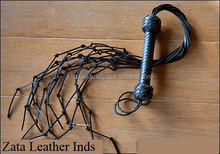 Red/black/pink color available! Top quality hot sex flogger, knotted tail flogger, Sex Products