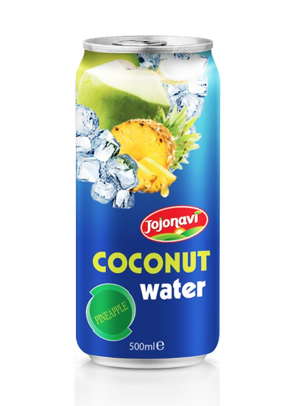 Pineapple flavour Coconut water in Aluminium can 500ml.jpg